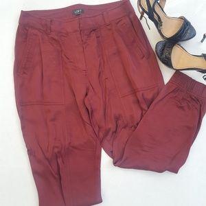 🎉Loft|Silk Pants|Maroon Color|Size 6